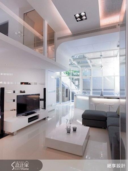 25坪新成屋(5年以下)_現代風客廳案例圖片_絕享設計_絕享_31之2