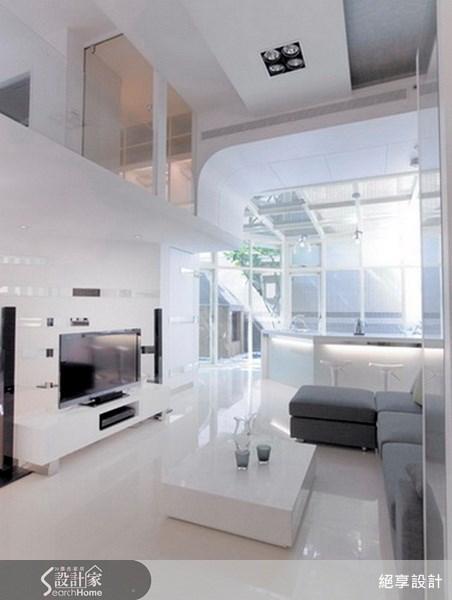 25坪新成屋(5年以下)_現代風客廳案例圖片_絕享設計_絕享_31之1
