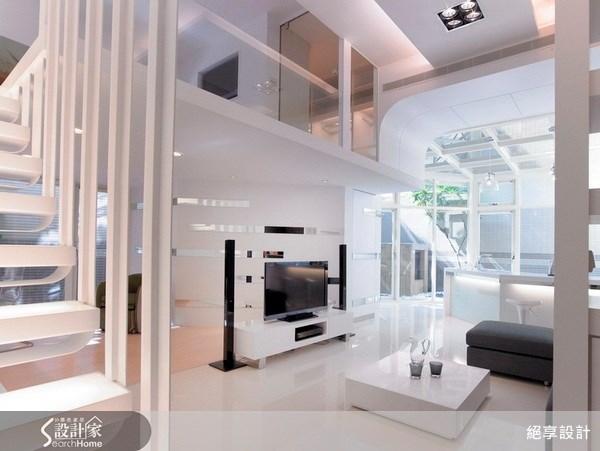 25坪新成屋(5年以下)_現代風客廳案例圖片_絕享設計_絕享_31之3