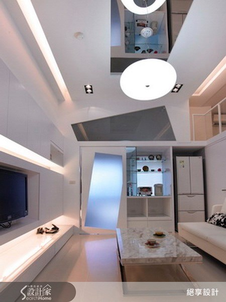 20坪新成屋(5年以下)_現代風客廳案例圖片_絕享設計_絕享_37之3