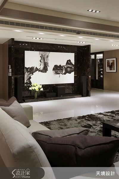 260坪新成屋(5年以下)_奢華風客廳案例圖片_天境空間設計_天境_10之3