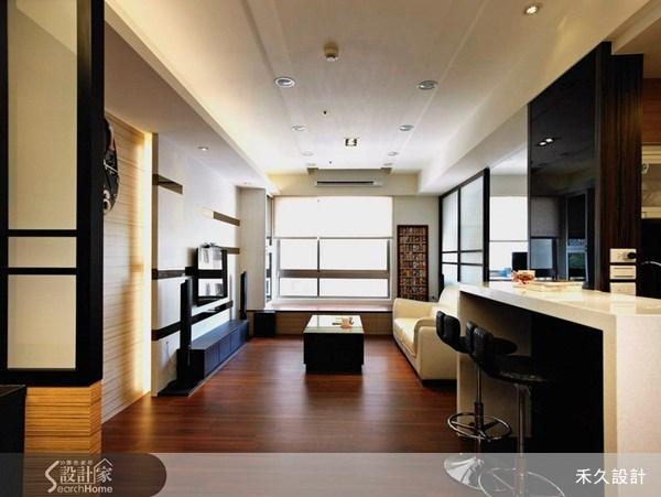 40坪新成屋(5年以下)_休閒風案例圖片_禾久室內裝修設計_禾久_17之3