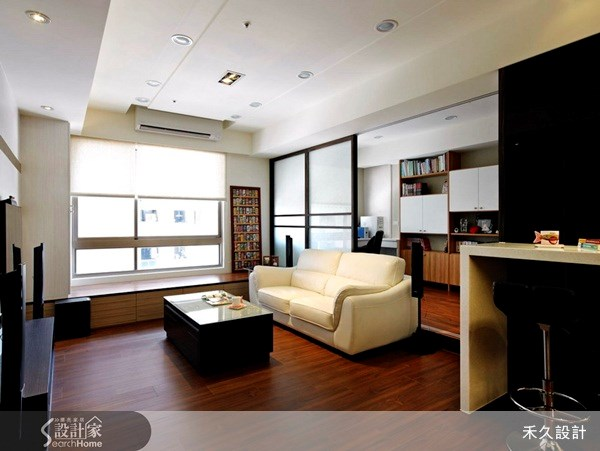 40坪新成屋(5年以下)_休閒風案例圖片_禾久室內裝修設計_禾久_17之4