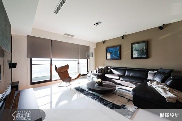 60坪新成屋(5年以下)_現代風案例圖片_權釋設計_權釋_84之1
