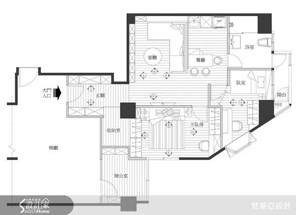 32坪中古屋(5~15年)_現代風案例圖片_梵蒂亞設計_梵蒂亞_09之21
