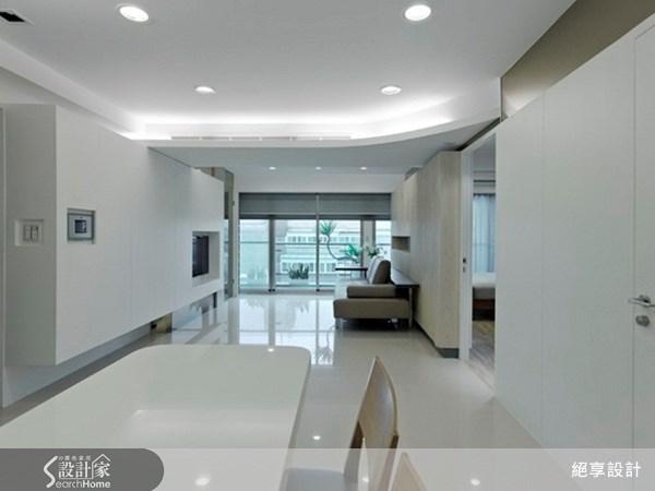 21坪新成屋(5年以下)_現代風餐廳案例圖片_絕享設計_絕享_41之1