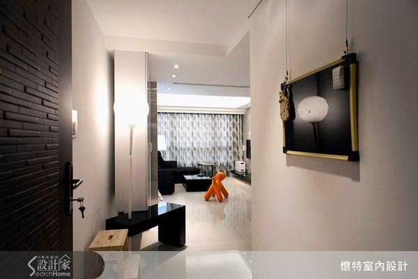 20坪新成屋(5年以下)_現代風走廊案例圖片_懷特室內設計_懷特_04之1