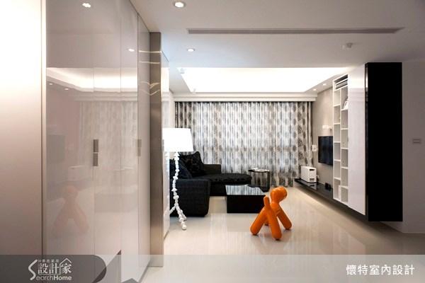 20坪新成屋(5年以下)_現代風客廳案例圖片_懷特室內設計_懷特_04之3