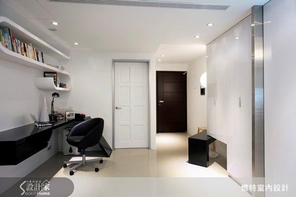 20坪新成屋(5年以下)_現代風書房案例圖片_懷特室內設計_懷特_04之2