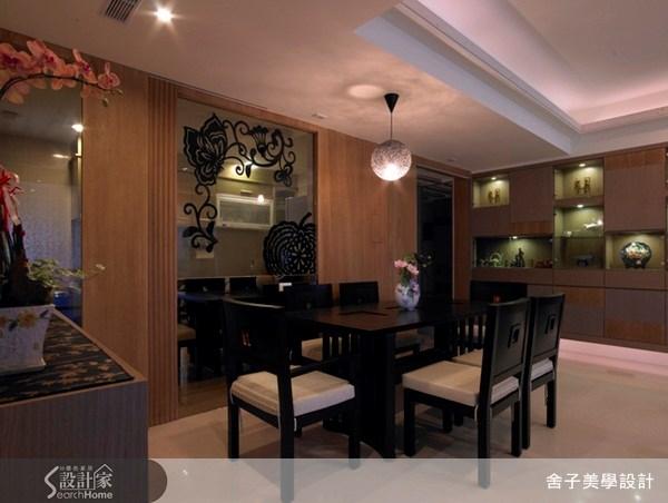 33坪新成屋(5年以下)_新中式風餐廳案例圖片_舍子美學設計_舍子美學_06之5
