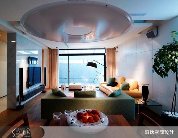 65坪老屋(16~30年)_現代風客廳案例圖片_奇逸空間設計_奇逸_04之3