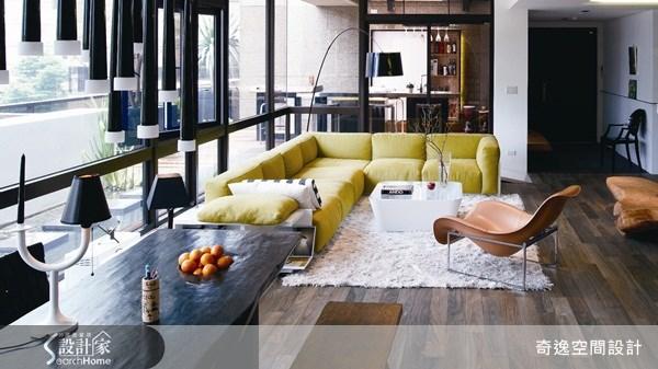 75坪新成屋(5年以下)_現代風客廳案例圖片_奇逸空間設計_奇逸_05之2