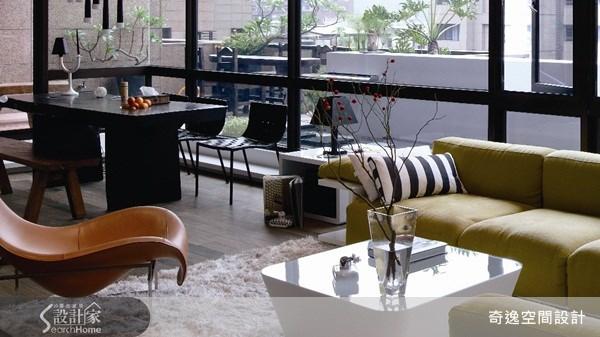 75坪新成屋(5年以下)_現代風客廳案例圖片_奇逸空間設計_奇逸_05之3