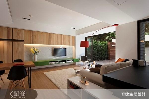 70坪新成屋(5年以下)_現代風客廳案例圖片_奇逸空間設計_奇逸_06之1