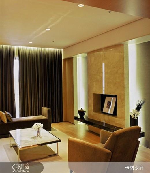 40坪新成屋(5年以下)_奢華風客廳案例圖片_卡納文創/品納設計_卡納_02之2