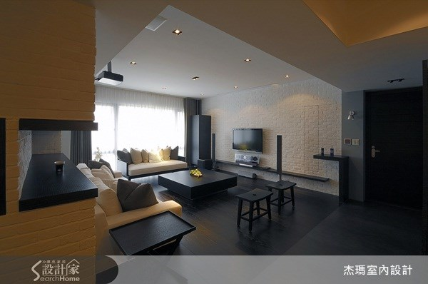 40坪新成屋(5年以下)_工業風案例圖片_杰瑪室內設計_杰瑪_02之2