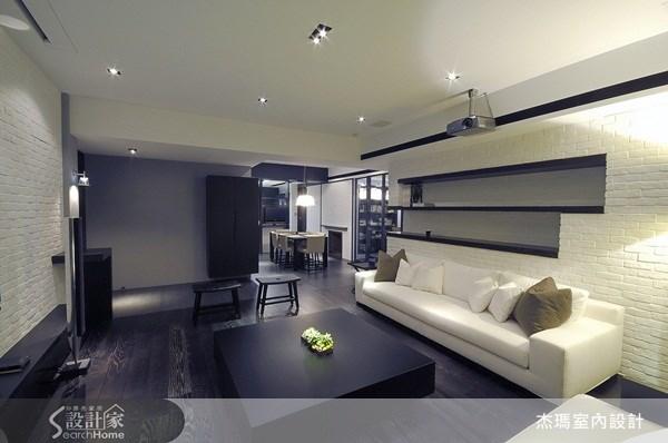 40坪新成屋(5年以下)_工業風案例圖片_杰瑪室內設計_杰瑪_02之3