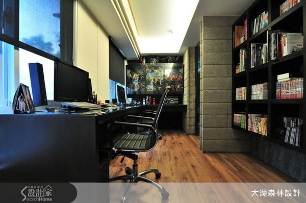 30坪新成屋(5年以下)_混搭風書房案例圖片_大湖森林室內設計_大湖森林_07之2