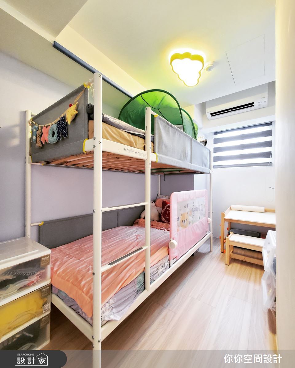 14坪老屋(31~40年)_混搭風兒童房兒童房案例圖片_你你空間設計_你你_19之21