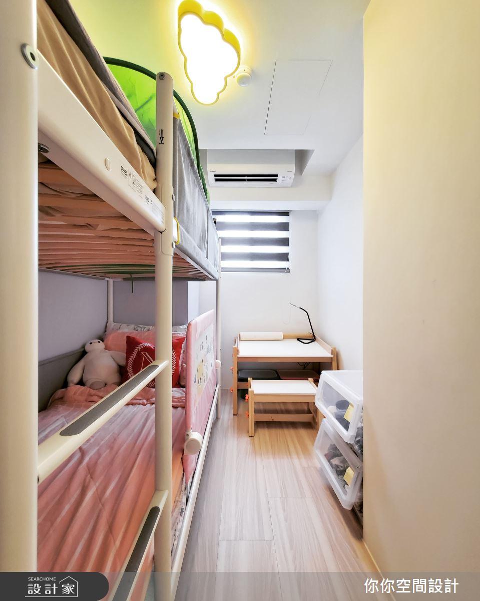 14坪老屋(31~40年)_混搭風兒童房兒童房案例圖片_你你空間設計_你你_19之19