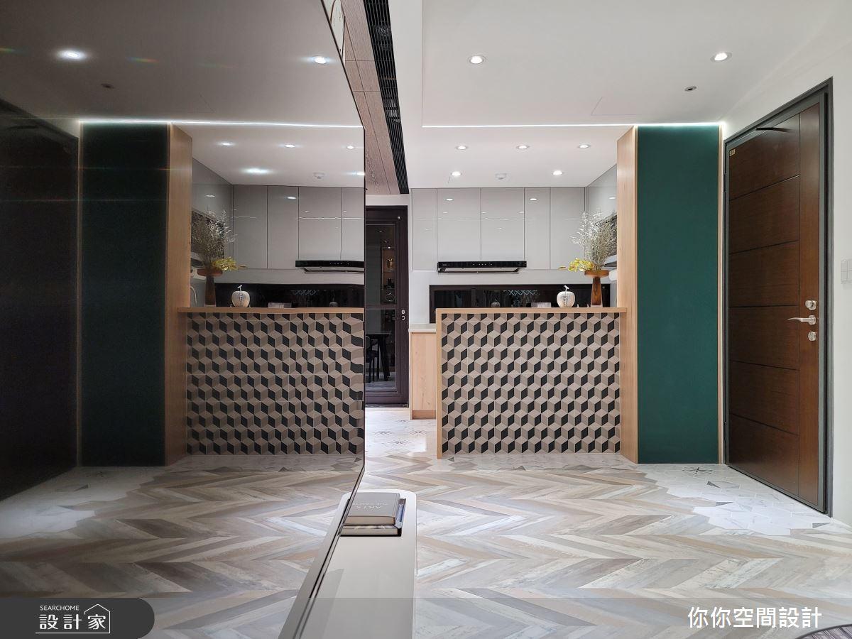 25坪中古屋(5~15年)_北歐風廚房案例圖片_你你空間設計_你你_22之3