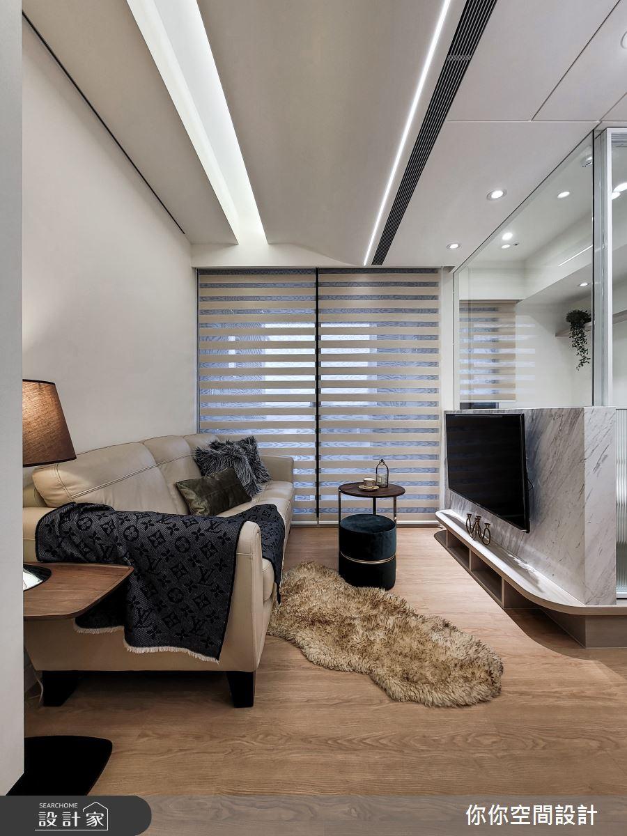 新成屋(5年以下)_北歐風客廳案例圖片_你你空間設計_你你_23之2