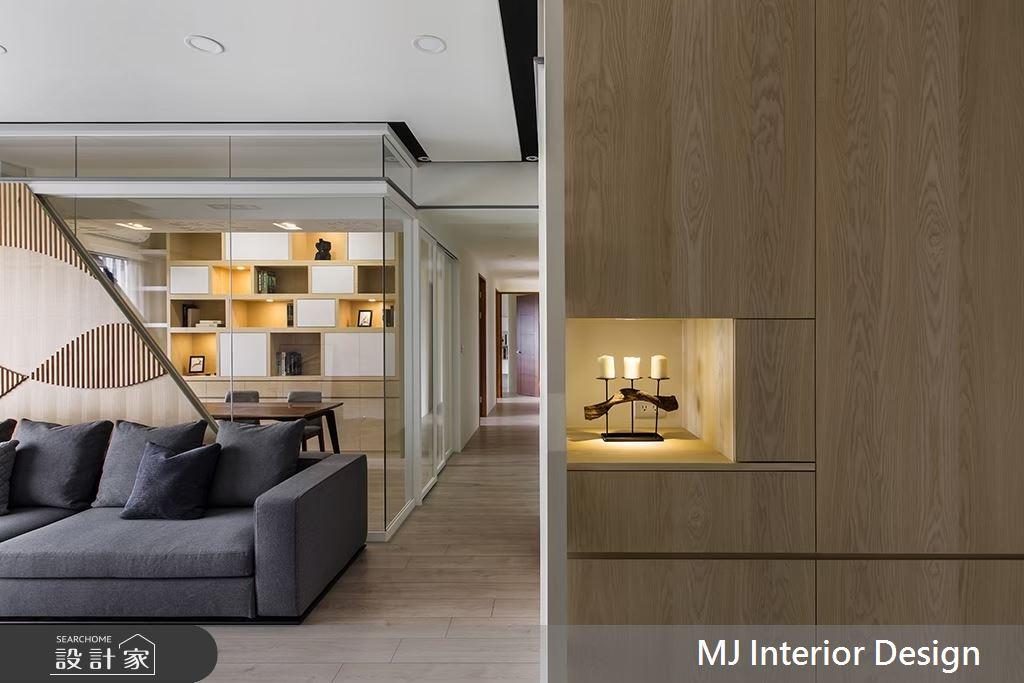 35坪新成屋(5年以下)_人文禪風客廳案例圖片_銘家室內設計_銘家_04之3