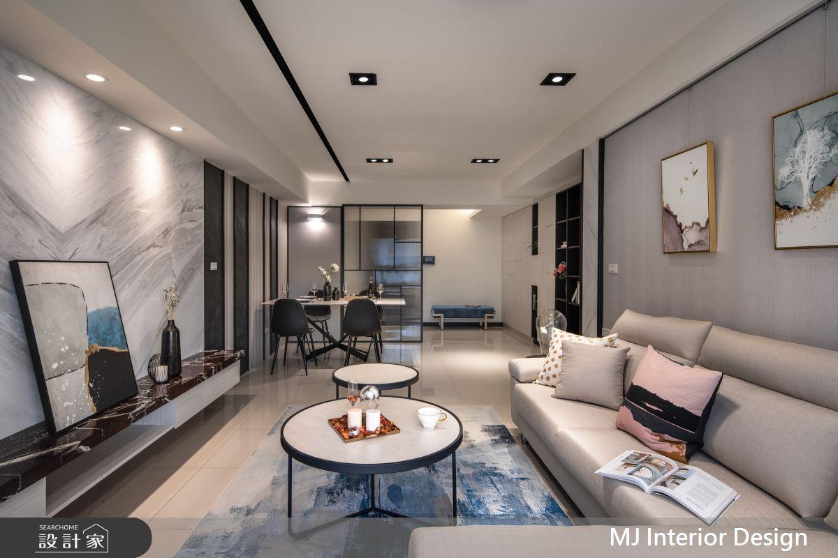 30坪新成屋(5年以下)_現代風客廳案例圖片_銘家室內設計_銘家_06之6