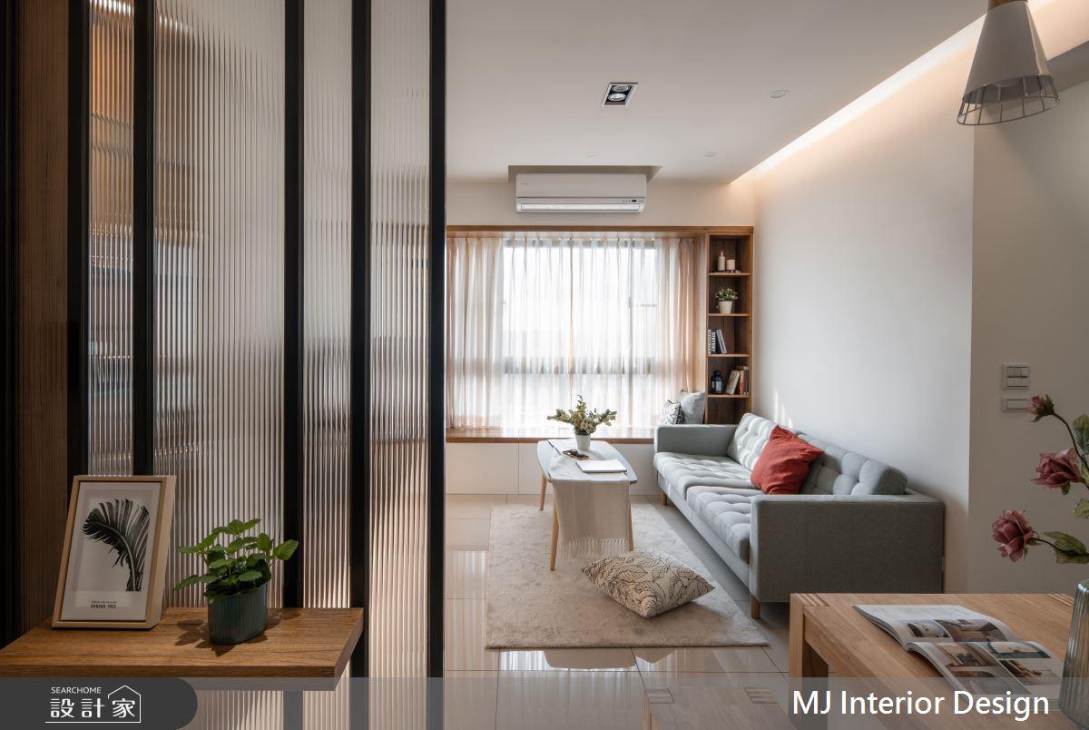 20坪新成屋(5年以下)_日式無印風客廳案例圖片_銘家室內設計_銘家_07之36