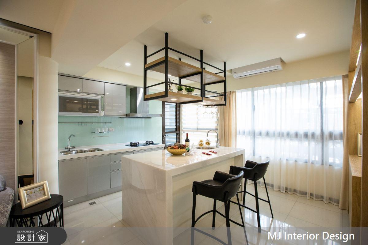 20坪新成屋(5年以下)_現代風廚房吧檯案例圖片_銘家室內設計_銘家_08之4