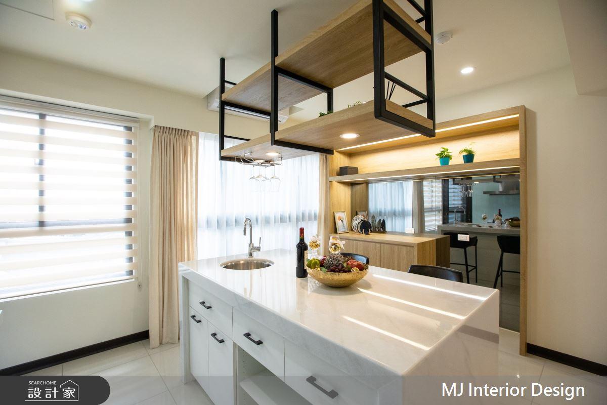 20坪新成屋(5年以下)_現代風吧檯案例圖片_銘家室內設計_銘家_08之5