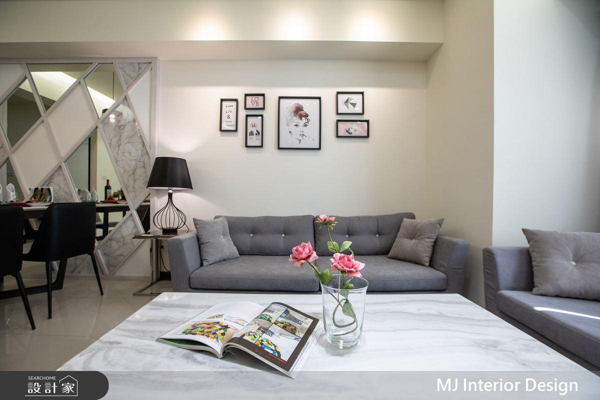 28坪新成屋(5年以下)_現代風客廳案例圖片_銘家室內設計_銘家_09之4