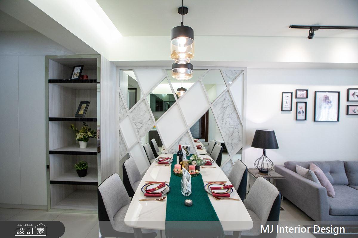 28坪新成屋(5年以下)_現代風餐廳案例圖片_銘家室內設計_銘家_09之3