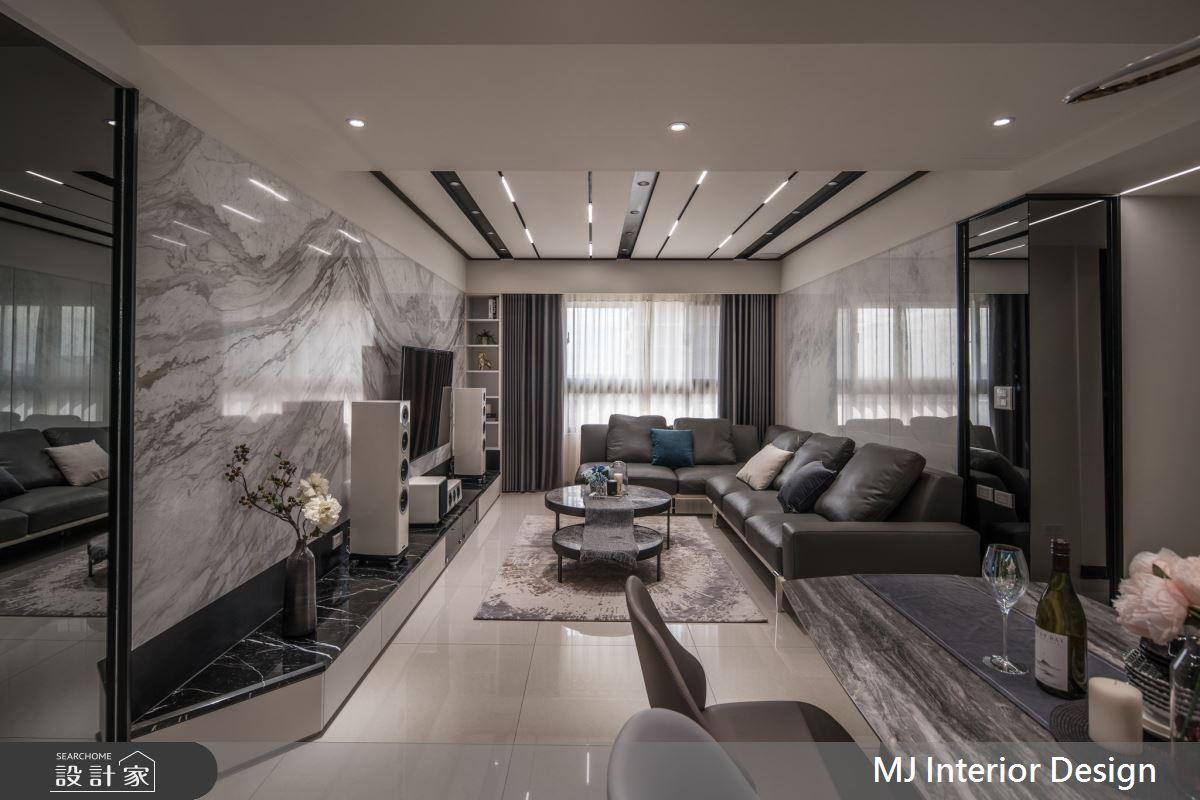 30坪新成屋(5年以下)_現代風案例圖片_銘家室內設計_銘家_11之3