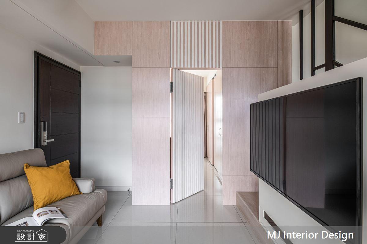 15坪新成屋(5年以下)_混搭風客廳案例圖片_銘家室內設計_銘家_15之2