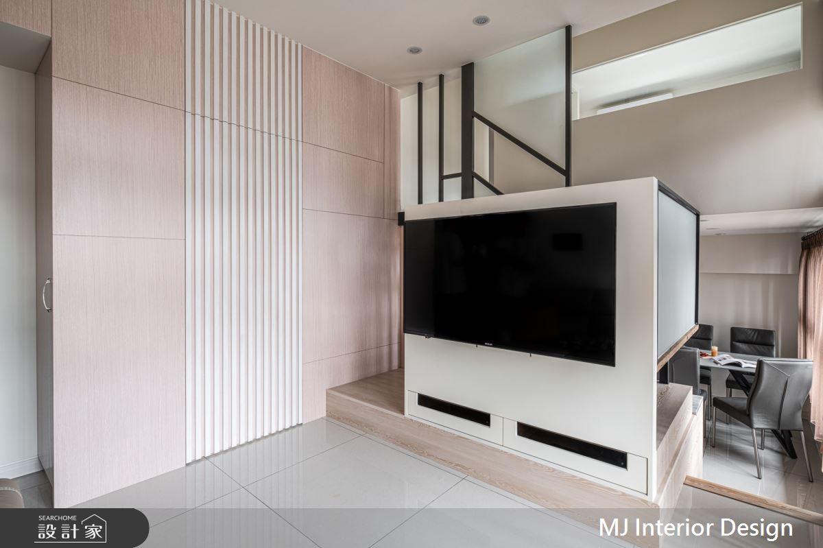 15坪新成屋(5年以下)_混搭風客廳案例圖片_銘家室內設計_銘家_15之3
