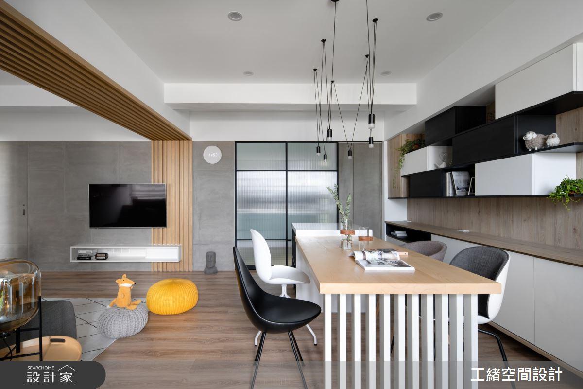 35坪老屋(16~30年)_北歐風餐廳案例圖片_工緒空間設計_工緒_07之3