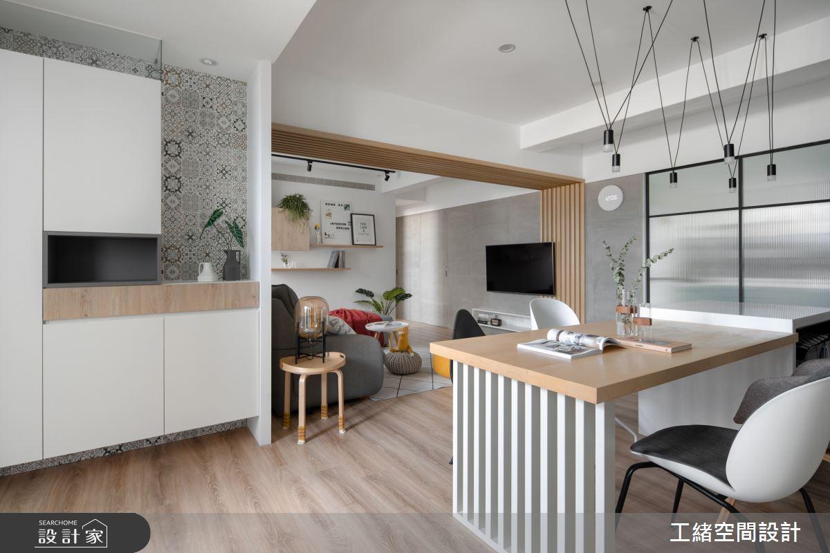 35坪老屋(16~30年)_北歐風餐廳案例圖片_工緒空間設計_工緒_07之2