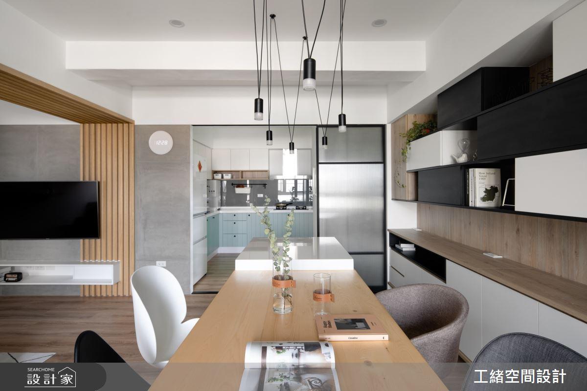 35坪老屋(16~30年)_北歐風餐廳案例圖片_工緒空間設計_工緒_07之4