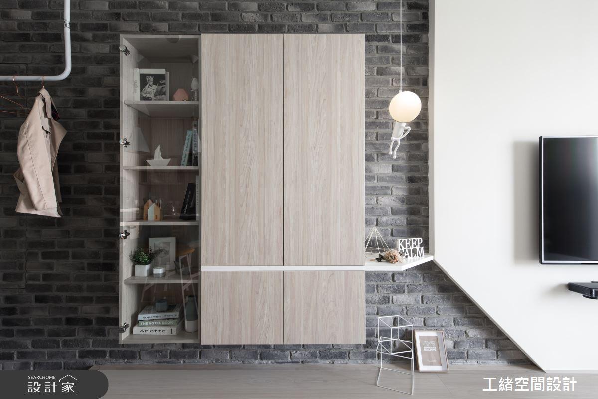25坪新成屋(5年以下)_北歐風餐廳案例圖片_工緒空間設計_工緒_01之8