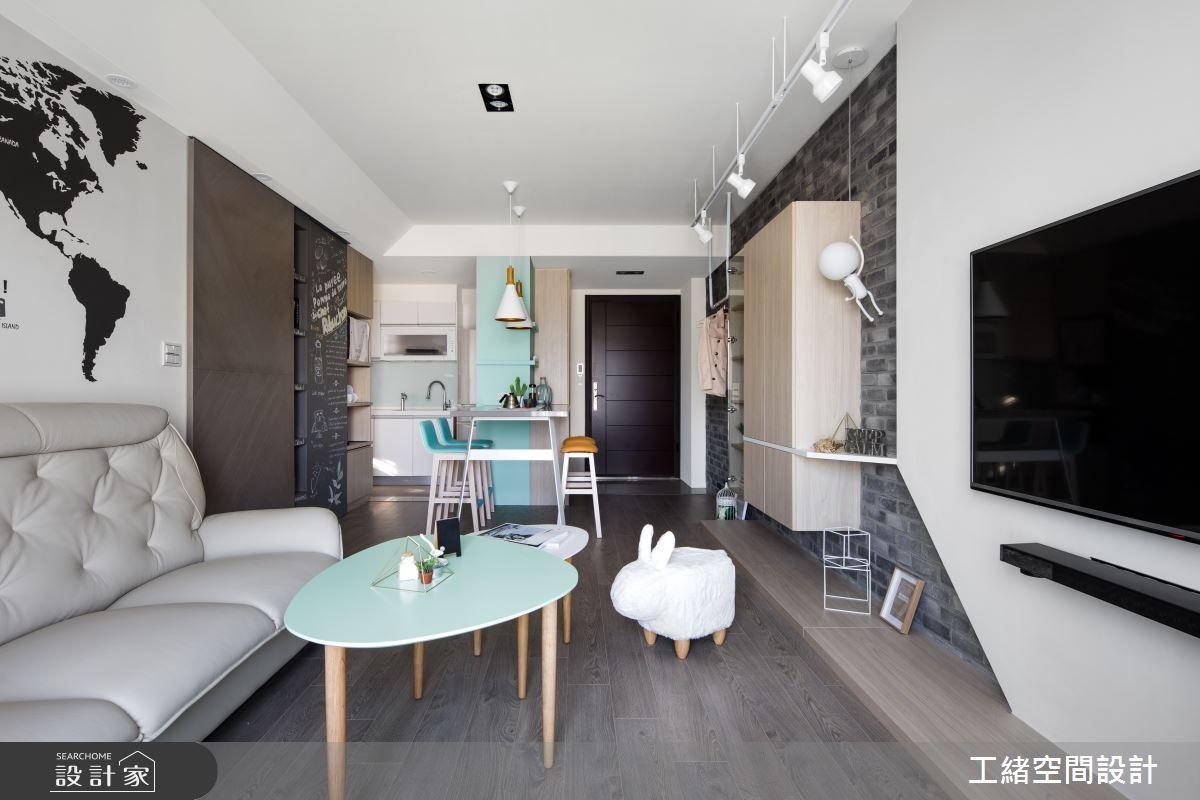 25坪新成屋(5年以下)_北歐風案例圖片_工緒空間設計_工緒_01之9