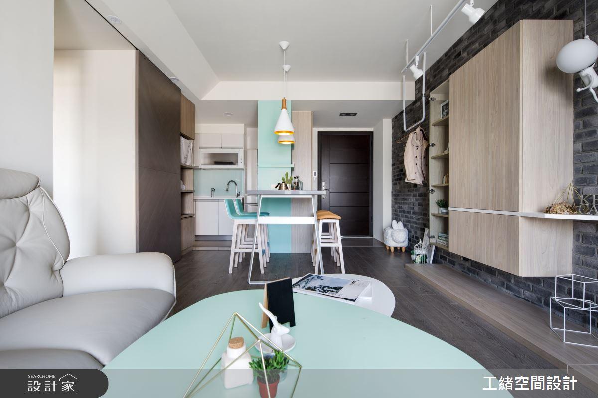 25坪新成屋(5年以下)_北歐風案例圖片_工緒空間設計_工緒_01之10
