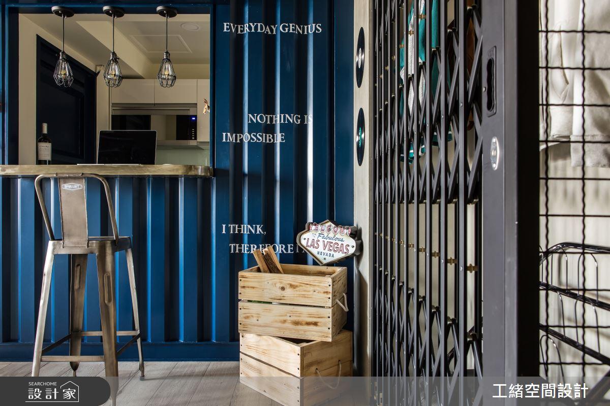 25坪新成屋(5年以下)_輕工業風吧檯案例圖片_工緒空間設計_工緒_03之3