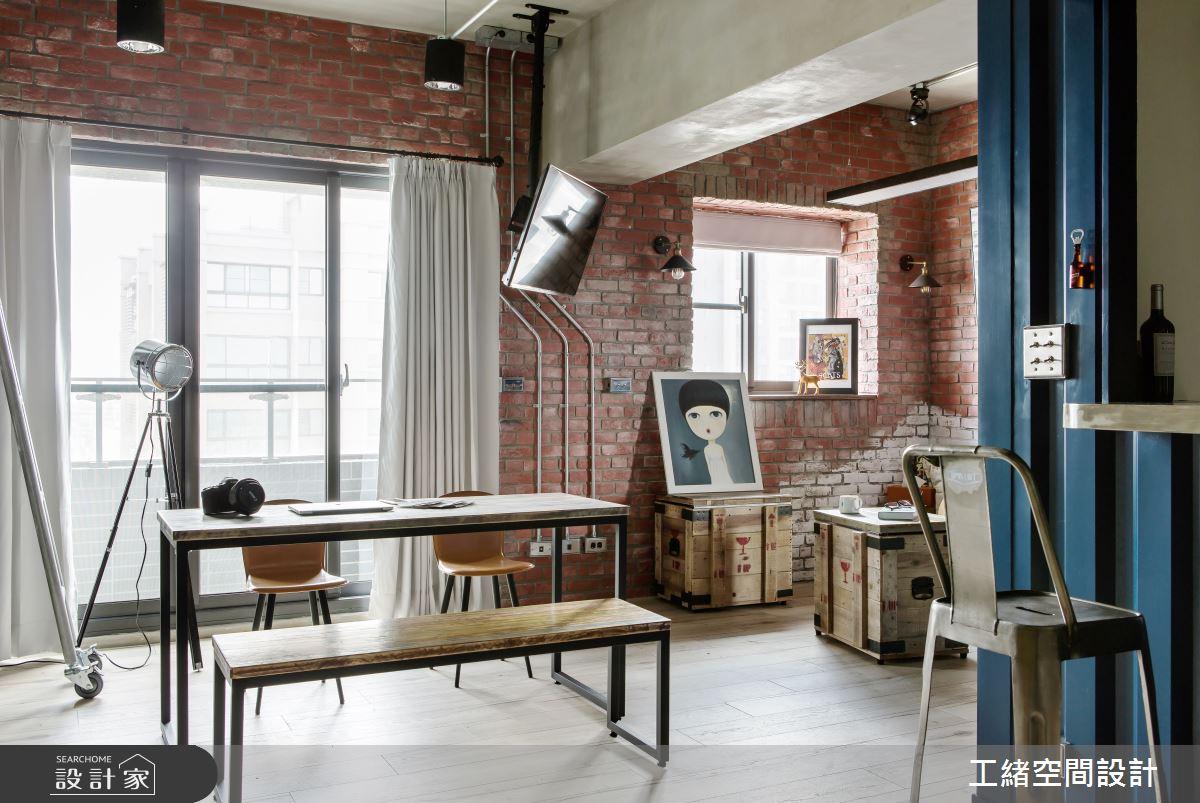 25坪新成屋(5年以下)_輕工業風餐廳案例圖片_工緒空間設計_工緒_03之6