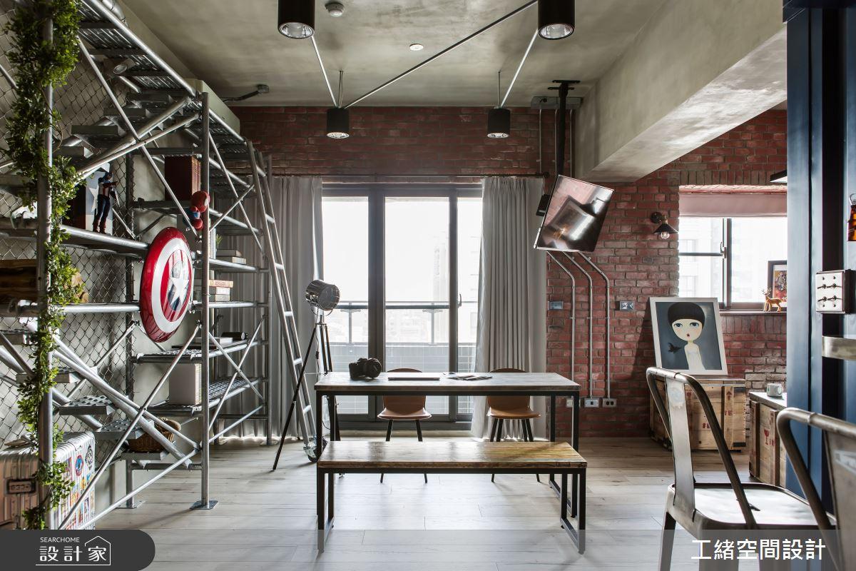 25坪新成屋(5年以下)_輕工業風餐廳案例圖片_工緒空間設計_工緒_03之8
