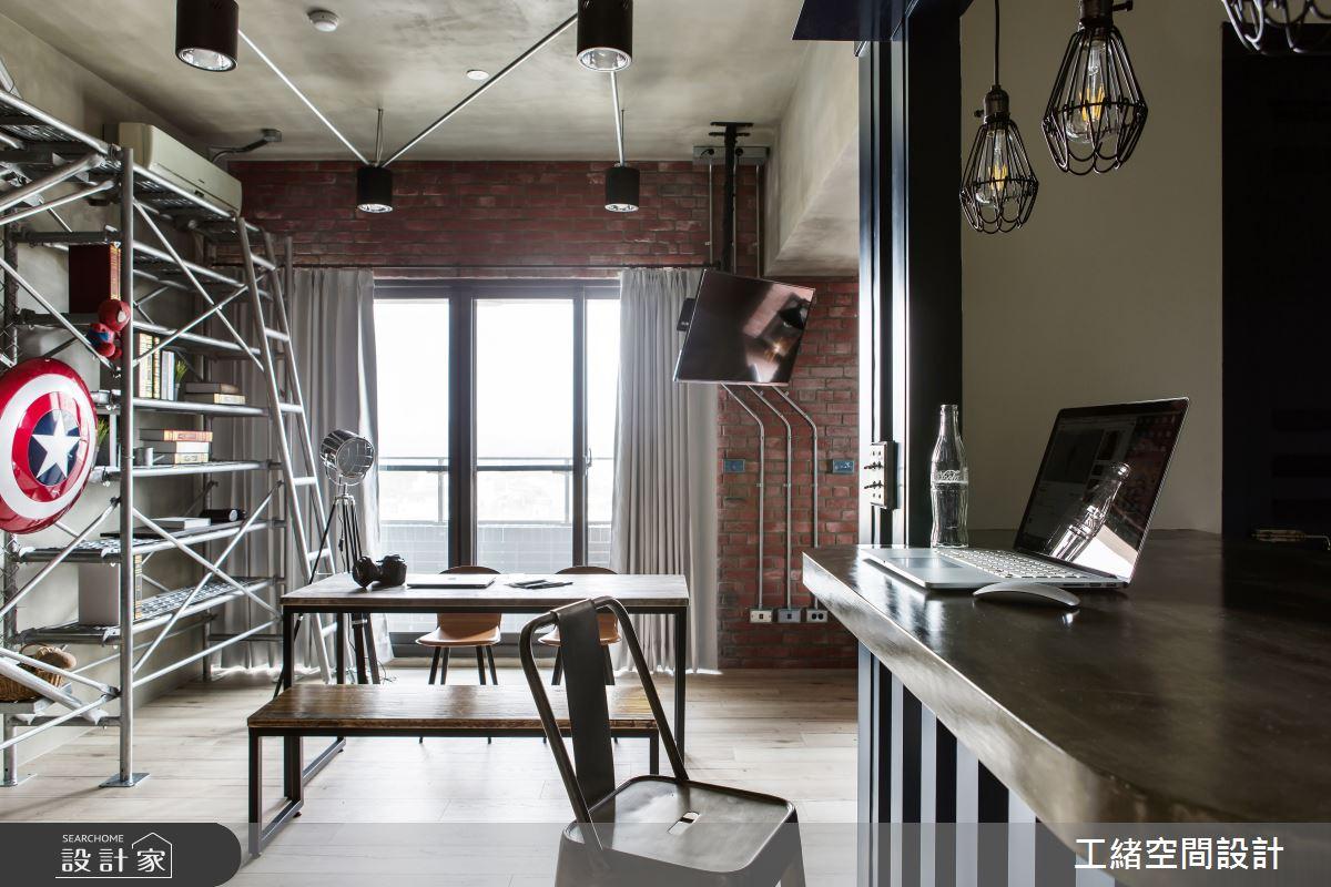 25坪新成屋(5年以下)_輕工業風餐廳案例圖片_工緒空間設計_工緒_03之9