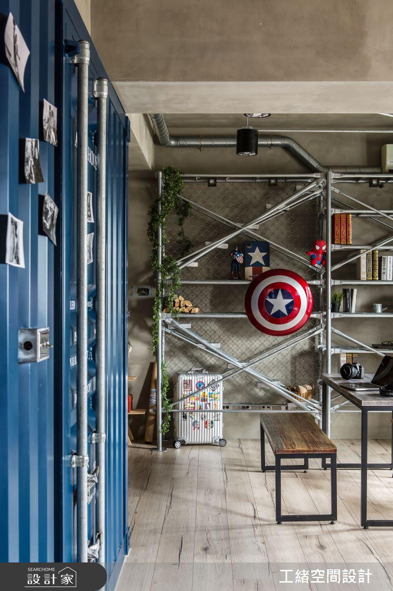 25坪新成屋(5年以下)_輕工業風餐廳案例圖片_工緒空間設計_工緒_03之14