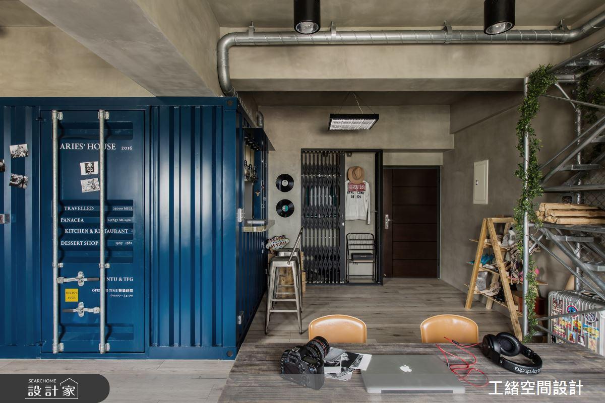 25坪新成屋(5年以下)_輕工業風吧檯案例圖片_工緒空間設計_工緒_03之15