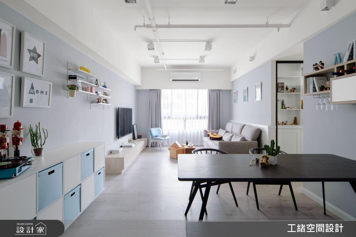 25坪新成屋(5年以下)_北歐風餐廳案例圖片_工緒空間設計_工緒_04之2