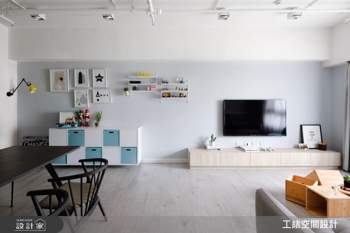25坪新成屋(5年以下)_北歐風客廳餐廳案例圖片_工緒空間設計_工緒_04之8